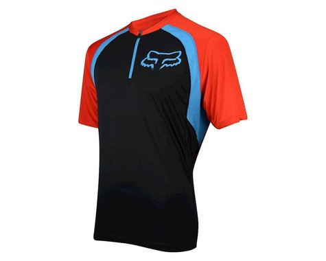 Fox Racing Altitude Short Sleeve Jersey (Black/White)