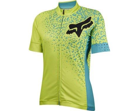 Fox Racing Women's Switchback Comp Short Sleeve Jersey (Plum)