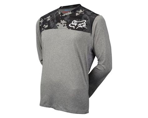 Fox Racing Indicator Print Long Sleeve Jersey (Grey)