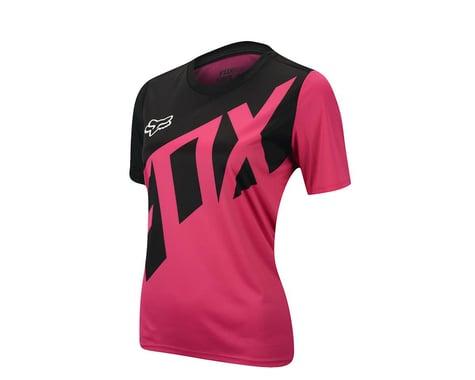 Fox Racing Women's Ripley Short Sleeve Jersey (Teal Bl)
