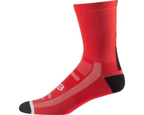 "Fox Racing Racing Trail 8"" Sock (Flame Red)"