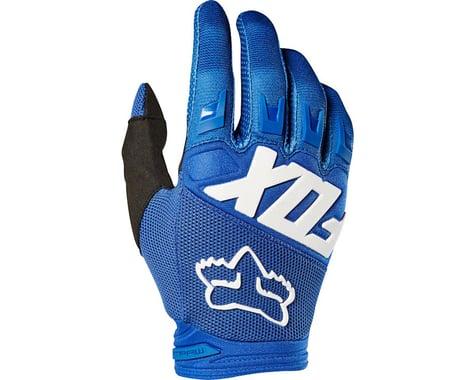 Fox Racing Dirtpaw Gloves - Blue, Full Finger, Men's, Small