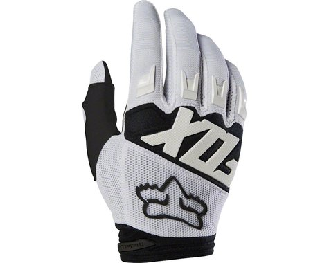 Fox Racing Dirtpaw Men's Full Finger Glove (White)