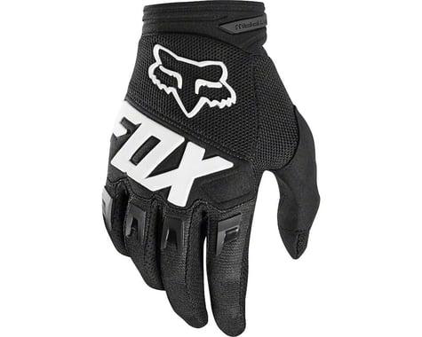 Fox Racing Dirtpaw Youth Full Finger Glove: Black/Pink LG