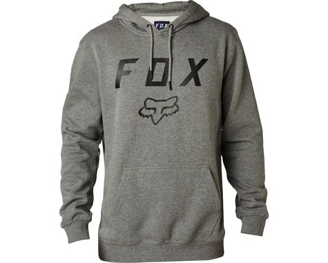 Fox Racing Racing Legacy Moth Men's Pullover Fleece Hoody (Heather Graphite)