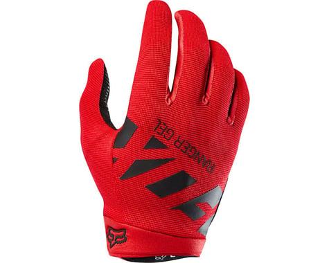 Fox Racing Racing Ranger Gel Men's Full Finger Glove (Bright Red)