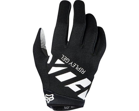 Fox Racing Racing Ripley Gel Women's Full Finger Glove (Black/White)