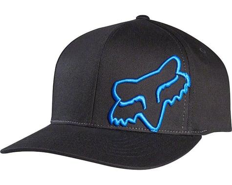 Fox Racing Flex 45 Flexfit Hat (Black/Blue)