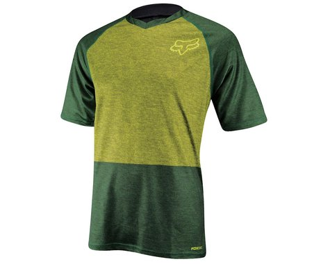 Fox Racing Indicator Short Sleeve Jersey (Green) (Xlarge)
