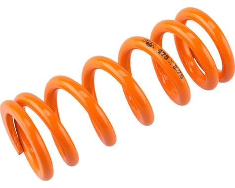 "Fox Suspension Fox SLS Coil Rear Shock Spring 550lbs x 2.5-2.75"" Stroke, Orange"