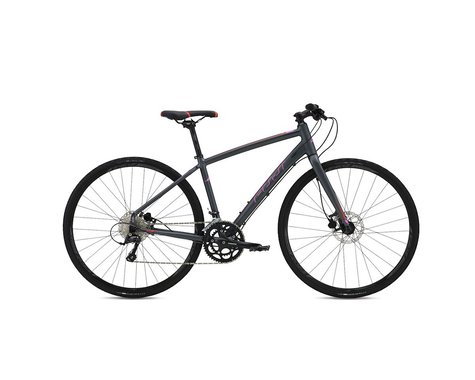 Fuji Silhouette 1.3 D Flat Bar Road Bike - 2016 (Grey) (15)