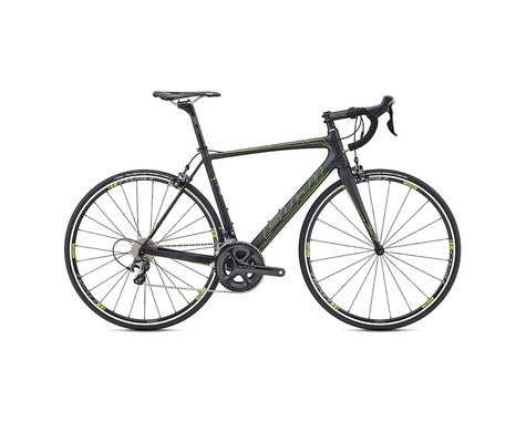 Fuji Bikes Fuji SL 1.7 Road Bike - 2017 (Carbon/Green)