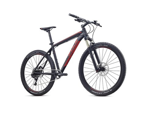 Fuji Tahoe 27.5 1.1 Mountain Bike - 2017 (Black/Red) (15)