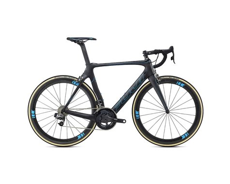 Fuji Bikes Fuji Transonic Elite Road Bike - 2017 (Carbon/Cyan)