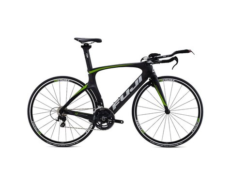 Fuji Norcom Straight 2.5 Triathlon Road Bike - 2015 (Carbon/Green) (55)