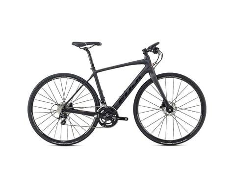 Fuji Brevet Forza 1.1 Disc Flat Bar Road Bike - 2017 (Carbon) (53)