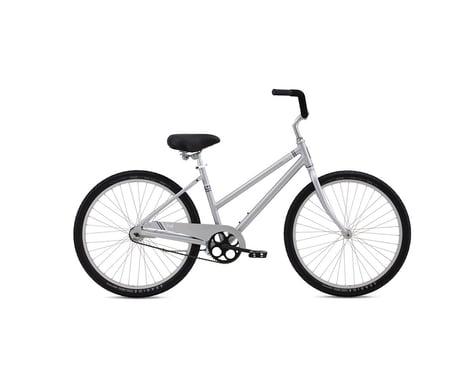 Fuji Bikes Fuji Cape May Women's Beach Cruiser Bike -- 2016 (Silver)