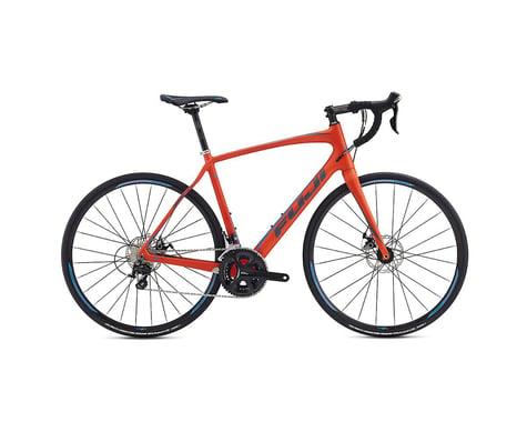 Fuji Gran Fondo 2.5 Disc Road Bike - 2017 (Orange) (52)