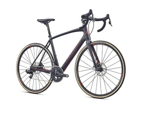 Fuji Gran Fondo Elite Road Bike - 2017 (Carbon/Red) (54)