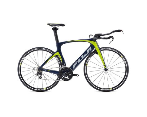 Fuji Norcom Straight 2.5 Triathlon Road Bike - 2016 (Blue) (57)