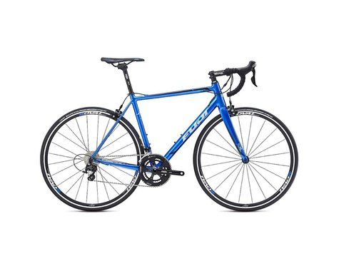 Fuji Roubaix 1.3 Road Bike -- 2017 (Blue/Silver) (49)