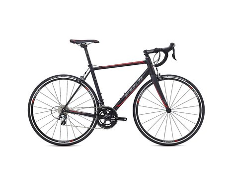 Fuji Roubaix 1.5 Road Bike - 2017 (Black/Charcoal) (61)
