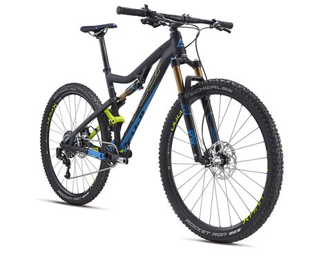 Fuji Rakan 29r 1.1 Full Suspension Mountain Bike - 2016 (Black) (15)