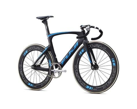 Fuji Bikes Fuji Track Elite Track Bike -- 2017 (Carbon/Cyan) (58)
