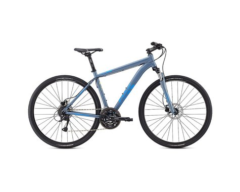 Fuji Traverse 1.5 Disc Sport Hybrid Bike - 2017 (Blue) (15)