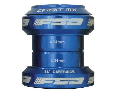 "FSA Orbit MX Threadless Headset (Blue) (1-1/8"") (EC34/28.6) (EC34/30)"