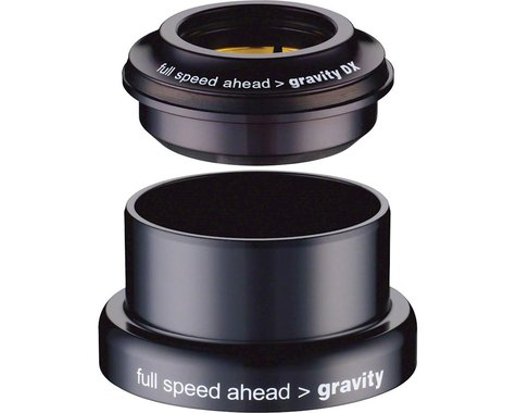 "FSA Gravity DX Tapered Headset (Black) (1-1/8"") (ZS44/28.6) (EC49/30)"