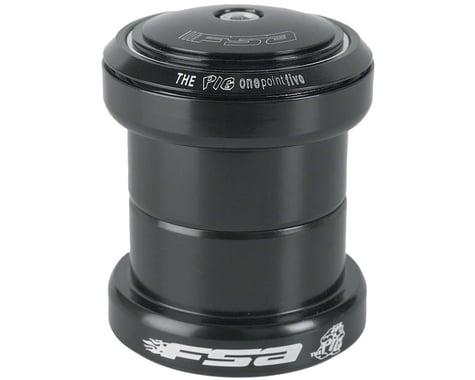 """FSA Big Fat Pig Threadless Headset (Black) (1.5"""") (EC49/38.1, EC49/40)"""