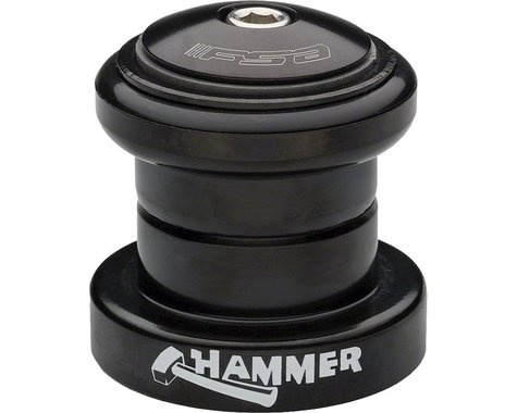 "FSA Hammer Heavy Duty Threadless Headset (Black) (1-1/8"") (EC34/28.6) (EC34/30)"