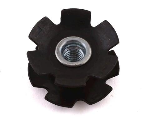 """FSA Steel Star Nuts (Black) (1-1/8"""")"""