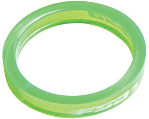 "FSA PolyCarbonate 5mm Spacer Bag (Green) (1-1/8"") (10)"
