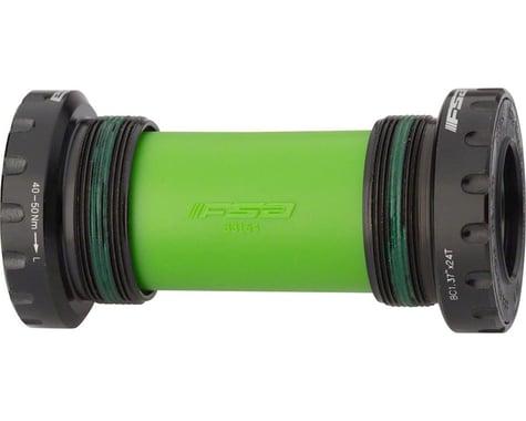 FSA BB-6200 MegaExo Threaded Cartridge Bottom Bracket (Black) (BSA (68/73mm)