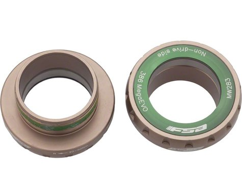 FSA MegaEVO 68mm English BB Adapter for BB 386 EVO