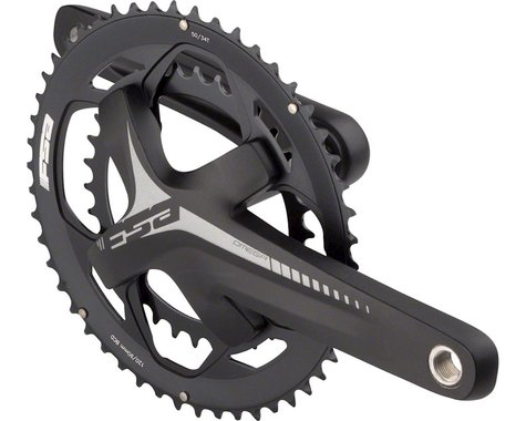 FSA (Full Speed Ahead) Omega Crankset - 175mm, 11-Speed, 50/34t, 120/90 BCD, FSA