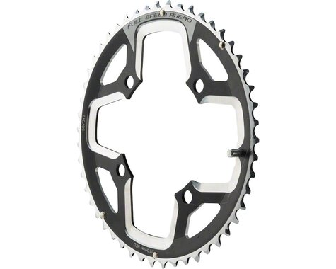 FSA Gossamer Pro ABS Super Road Chainring (Black) (110mm BCD) (50T)