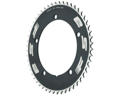"FSA 1/2""x1/8"" Pro Track Chainring (Black) (144mm BCD) (52T)"
