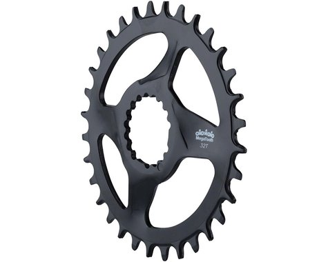 FSA Mountain Megatooth DM 1x Chainring (Black) (0mm Offset) (30T)