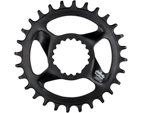 FSA Mountain Megatooth DM 1x Chainring (Black) (0mm Offset) (28T)