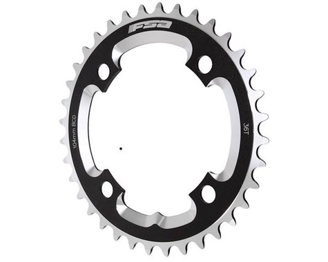 FSA Downhill 3mm Chainring (Black) (104mm BCD) (Offset N/A) (36T)