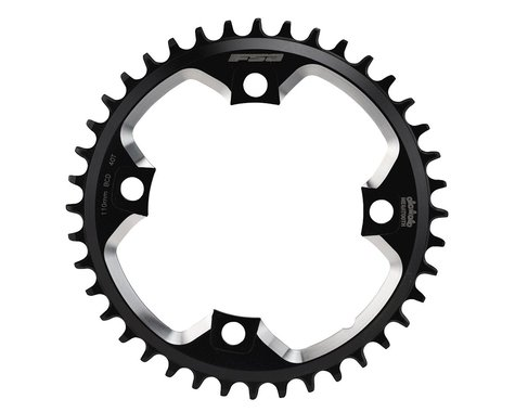 FSA Gossamer MegaTooth Pro Chainring - 110 BCD (Road/CX) (Black)