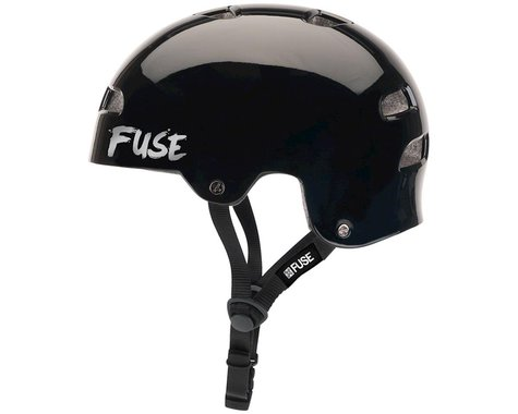 Fuse Protection Alpha Icon Helmet (Gloss Black/White) (XS/S)