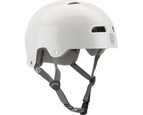 Fuse Protection Alpha Icon Helmet - Glossy White, X-Small/Small (S/M)