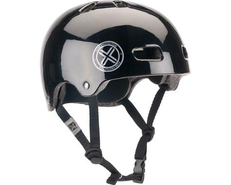 Fuse Protection Delta Scope In-Mold Hardshell Helmet - Glossy Black, X-Small/Med
