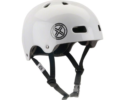 Fuse Protection Delta Scope In-Mold Hardshell Helmet - Glossy White, Medium/X-La