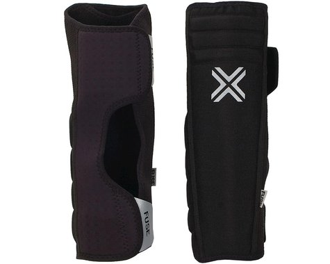 Fuse Protection Alpha Shin Whip Extended Pad: Black SM, Pair (S)