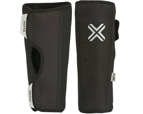 Fuse Protection Alpha Shin Pad: Black SM, Pair (XL)